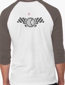Steve McQueen 12 Hours of Sebring 1970 Team Tribute Men's Baseball ¾ T-Shirt