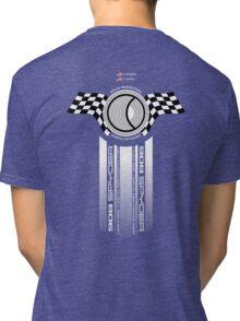 Steve McQueen 12 Hours of Sebring 1970 Team Tribute Tri-blend T-Shirt