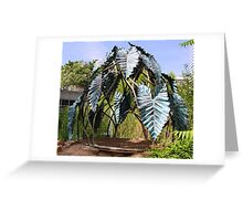 Botanic Sculpture Greeting Card