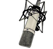 Neumann U87 Microphone by maxgold123