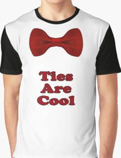Bow Ties Are Cool T-Shirt - Hipster Tie Sticker Small - TV Quote  Classic Graphic T-Shirt