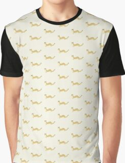 Fluffy Weasel Graphic T-Shirt