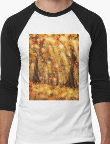 Autumn Dream Men's Baseball ¾ T-Shirt