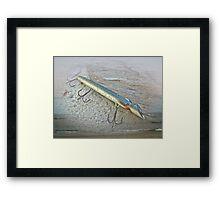 Vintage Fishing Lure - Floyd Roman Nike Lil Sandee Framed Print