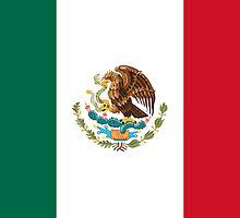 Mexcian Flag - World Cup Football - Mexico T-Shirt Duvet Sticker by deanworld