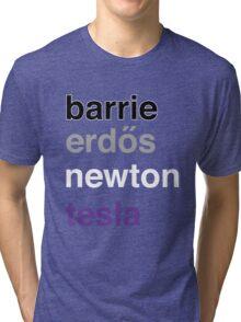barrie erdős newton tesla Tri-blend T-Shirt