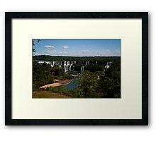 Iguaçu Falls, Brazil Framed Print