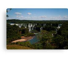 Iguaçu Falls, Brazil Canvas Print