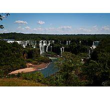 Iguaçu Falls, Brazil Photographic Print