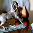 Horse Figurine by Peggy Berger