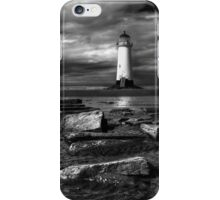 iPhone Case of Lighthouse at Talacre iPhone Case/Skin