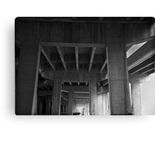 CONCRETE CATHEDRAL Canvas Print