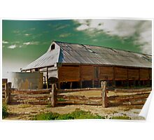 The Old Woolshed, Lake Mungo Poster