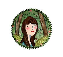 Self Portrait in Woodland by Sophie Corrigan
