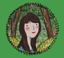 Self Portrait in Woodland One Piece - Short Sleeve
