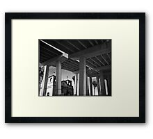 THE FREEWAY Framed Print