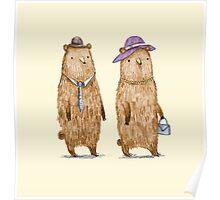 Bear Couple Poster