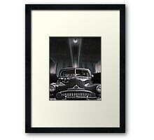 THE SNAKE Framed Print