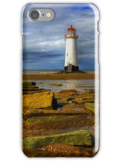 iPhone Case of The Abandoned Lighthouse by Adrian Evans
