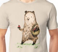 Apple Pickin' Bear Unisex T-Shirt