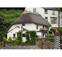 Manor Cottage Photographic Print