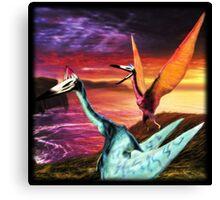 Quetzalcoatlus Canvas Print