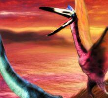 Quetzalcoatlus Sticker