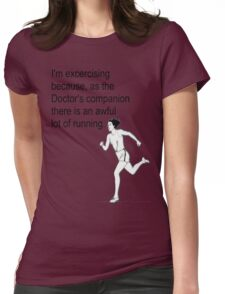 Doctor Who's Companion Womens Fitted T-Shirt