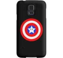 Captain america Mario star  Samsung Galaxy Case/Skin