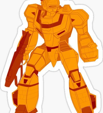 Gamma Ray Robot  Sticker