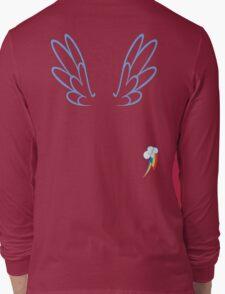 Rainbow Dash Wings & Cutie Mark Long Sleeve T-Shirt
