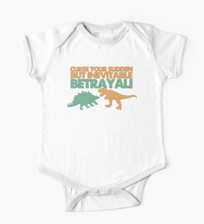 Curse your sudden but inevitable betrayal! One Piece - Short Sleeve