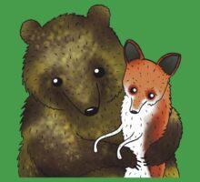 Timothy & Foxy Baby Tee