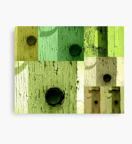 The Green Doors Canvas Print