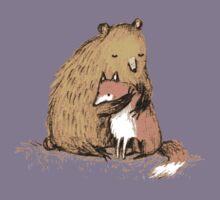 Grizzly Hugs Kids Tee