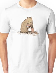 Grizzly Hugs Unisex T-Shirt