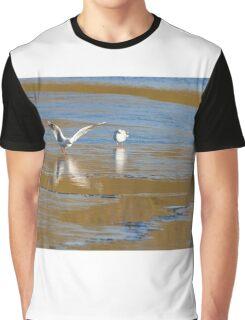 Seagull  landing  Graphic T-Shirt