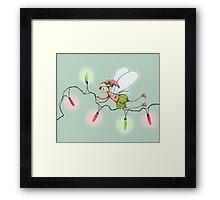 The Christmas Fairy Framed Print