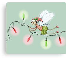 The Christmas Fairy Canvas Print