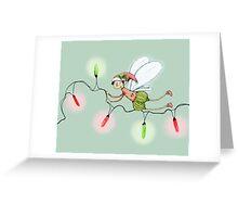 The Christmas Fairy Greeting Card