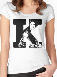 K is for Kaylee Women's Fitted Scoop T-Shirt