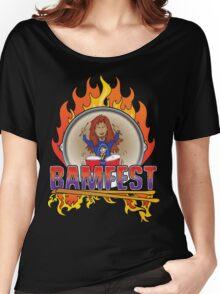 Official BAMFEST 2012 Logo Women's Relaxed Fit T-Shirt