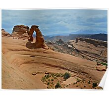 Delicate Arch, through an Arch Poster