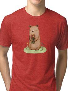 Bear Bouquet Tri-blend T-Shirt