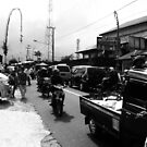 Bali Traffic  by Luke Donegan