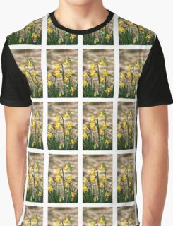 Clump of golden daffodils Graphic T-Shirt