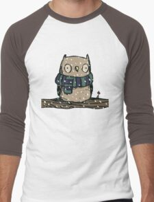 Chilly Owl Men's Baseball ¾ T-Shirt