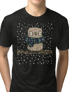 Chilly Owl Tri-blend T-Shirt