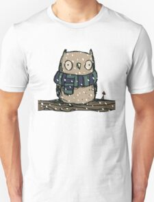 Chilly Owl Unisex T-Shirt