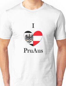 I heart PruAus Unisex T-Shirt
